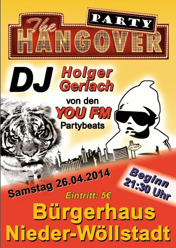 HANG OVER PARTY 2014